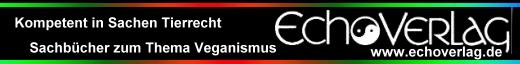 Externer Linktipp: Kompetent in Sachen Tierrechte und Veganismus - der Echoverlag