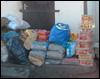 Futterspenden für die Tiere in Nitra