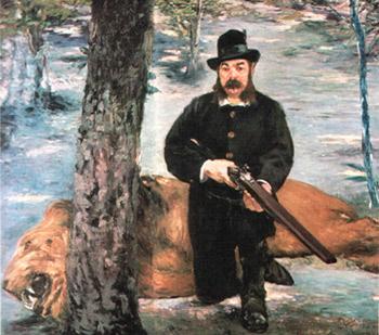 Edouard Manet: Der Löwenjäger Pertuiset