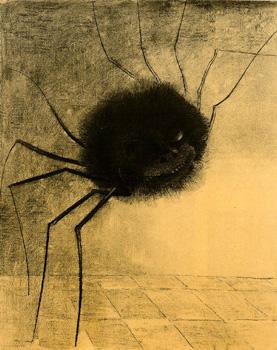 Die lächelnde Spinne. REDON